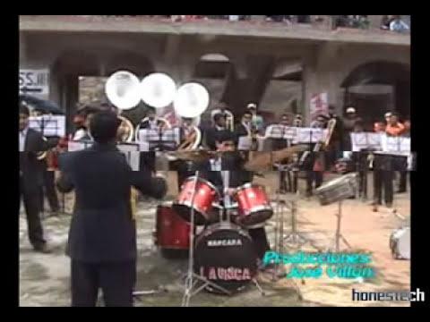 BANDA DE MUSICOS - la unica de marcara - otuzco 2010  - fiesta en otuzco 2010
