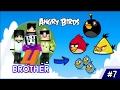 Menyelamatkan Erpan1140 - 4 Brothers Jadi Angry Bird - Minecraft Animation Indonesia #7