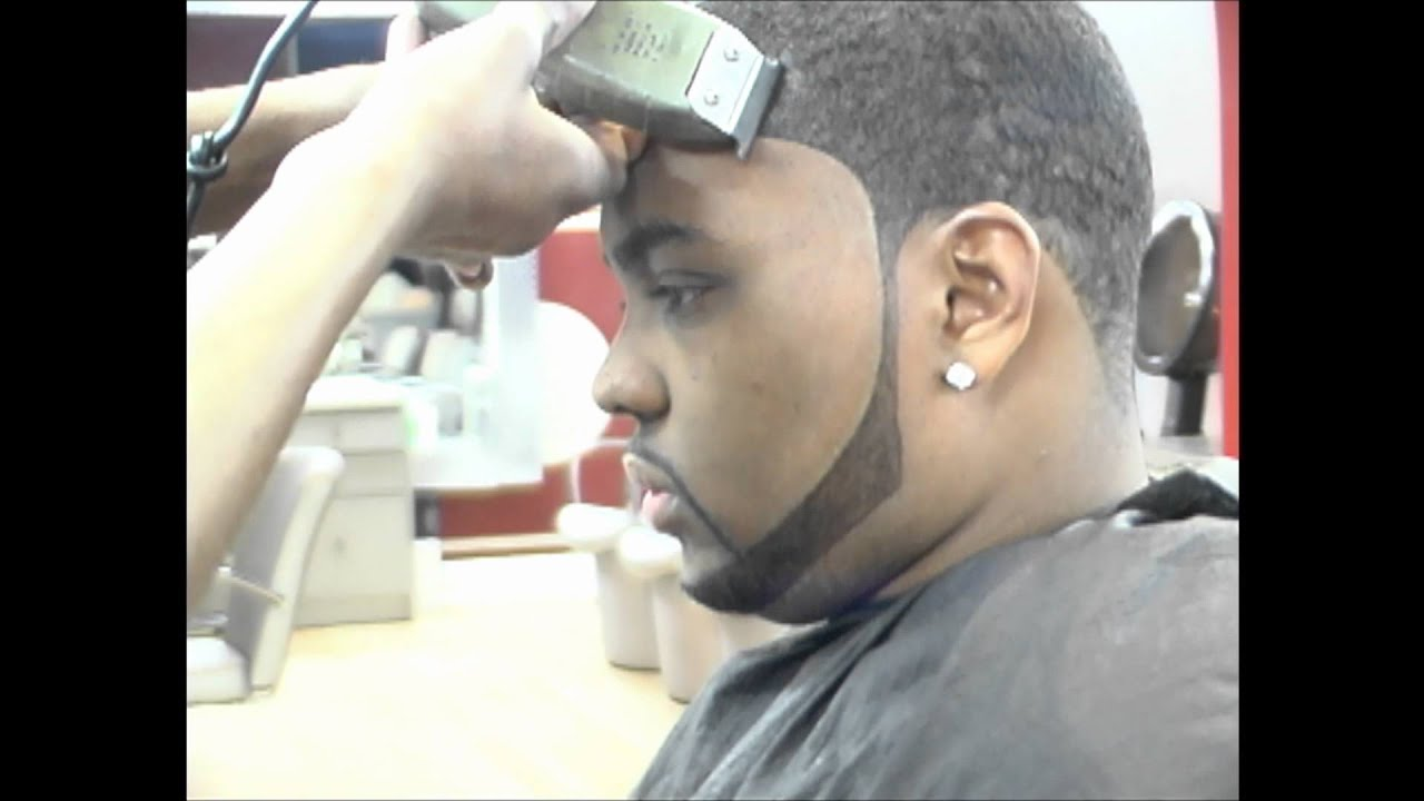 Afro taper haircut
