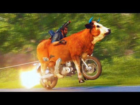Just Cause 3 Funny Moments #5 (Fails and Random Gameplay Moments)