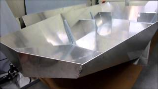 Sneak Preview Building aluminium BLM boat
