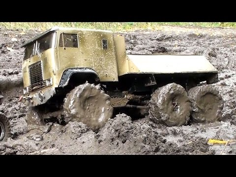 RC Trophy - mud diggers 8 - визги и брызги :)