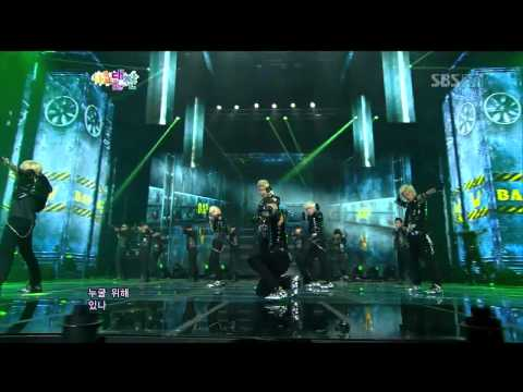 [HD]121229 SBS Gayo Daejun - B.A.P - WARRIOR