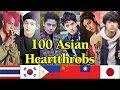 Lagu 100 ASIAN HEARTTHROBS of 2018 - V of BTS is the Winner!
