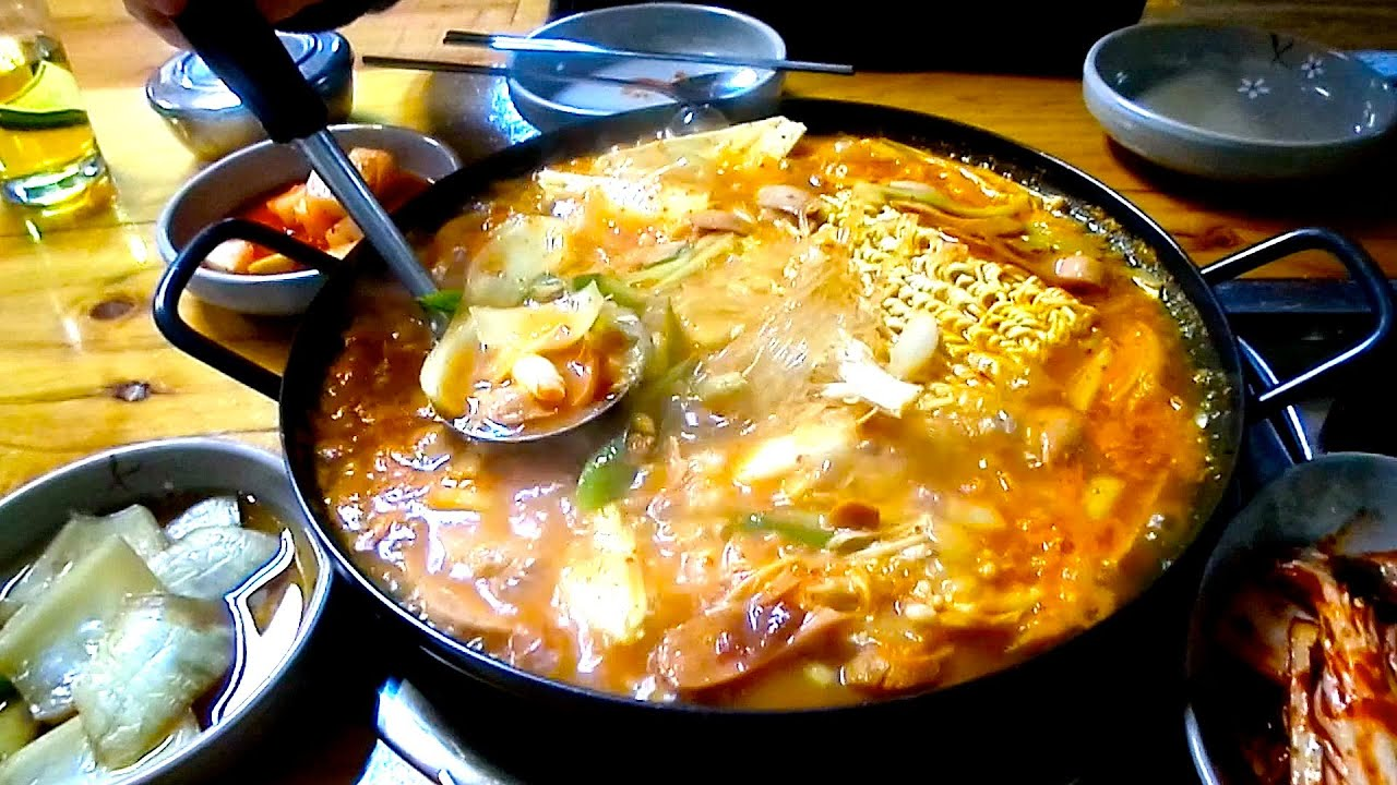 Korean Dog Soup Korean Hot Dog Stew