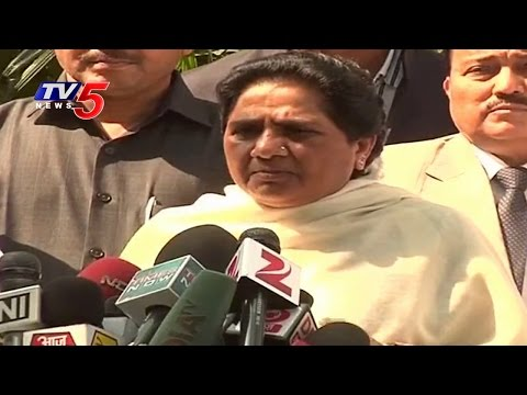 Mayawati rules out joining Congress Land Bill protest : TV5 News