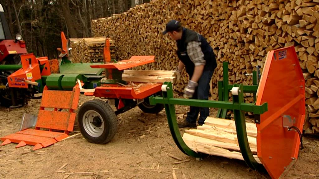 Posch splitmaster 20t wood splitter youtube for Splitmaster
