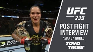 "UFC 239: Amanda Nunes - ""I Will Keep It Going"""