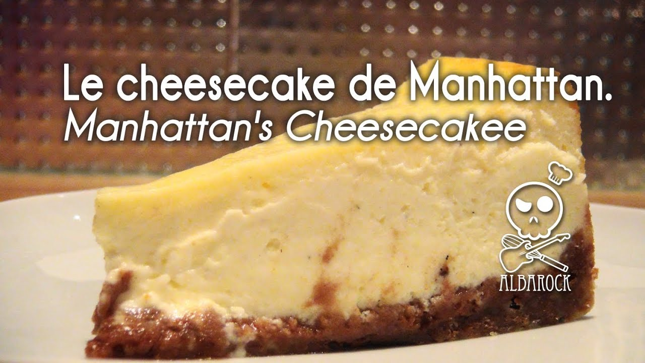 recette du cheesecake de manhattan recette de sp culos. Black Bedroom Furniture Sets. Home Design Ideas