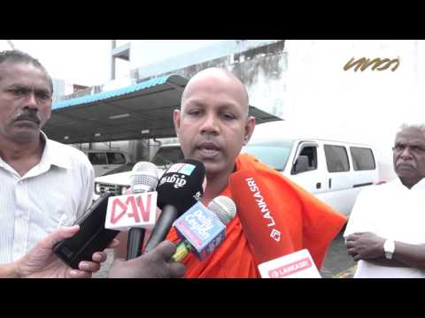 Buddhist monk shocked of treatment to Sri Lanka political prisoners