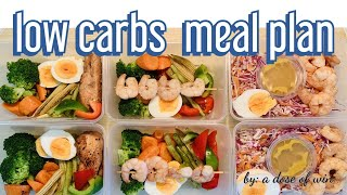 Meal Prep | weight loss meal prep | diet meals | low carb food | healthy meal prep for weight loss