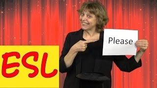 How to Use the Magic Word PLEASE: Learn English With Simple English Videos