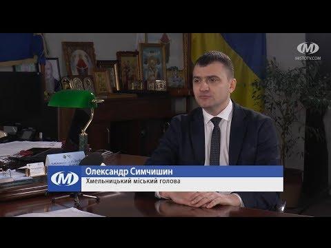 Міський голова Хмельницького Олександр Симчишин із підсумками сесії міськради