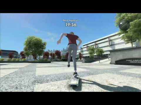 Skate 3 Demo - Out of Map! (Get past the demo barrier)