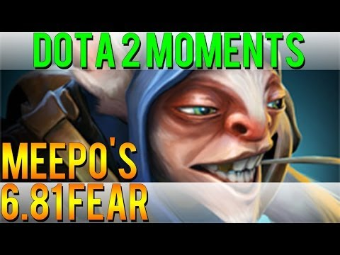 Dota 2 Moments - Meepo's 6.81 Fear