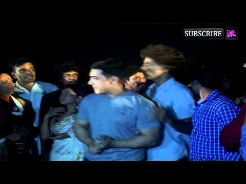 Aamir Khan At Marathi Movie Saturday Sunday Premiere