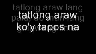 Watch Parokya Ni Edgar Tatlong Araw video