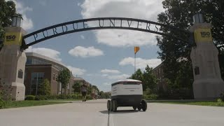 Robots Are Delivering Food on This College Campus
