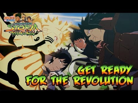 Naruto SUN Storm Revolution - PS3/X360/PC - Get Ready for the Revolution (Japan Expo 2014 FR)