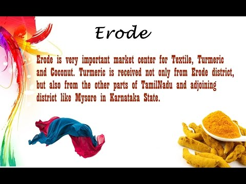 Erode District Famous Places