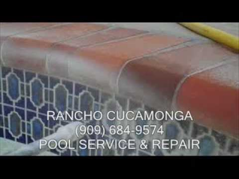 Rancho Cucamonga Pool Service & Repair (909) 895-0035 - Residential & Commercial Pools. Affordable Pool Tile Cleaning,Service & Repairs Upland,Montclair,Clar...
