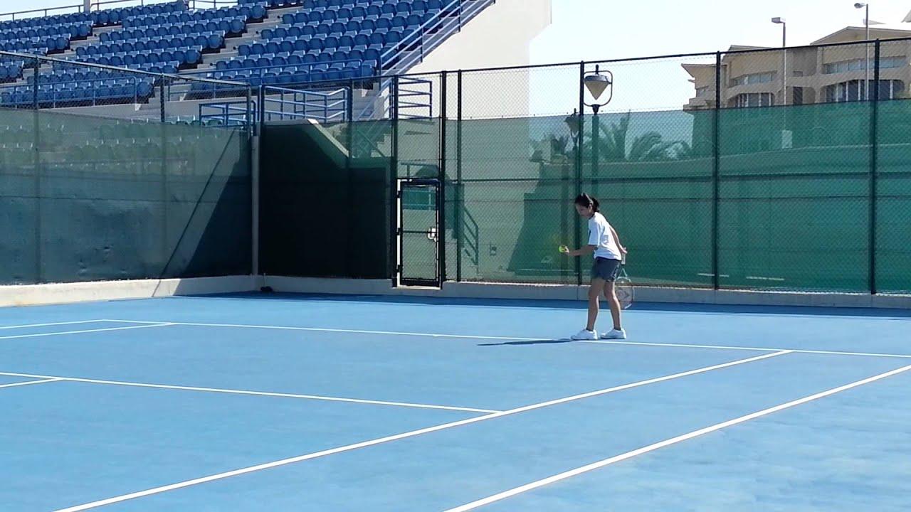 Zayed Sports City Tennis Playing Tennis at Zayed Sports