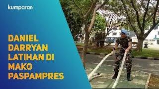 Daniel Darryan Latihan Di Mako Paspampres