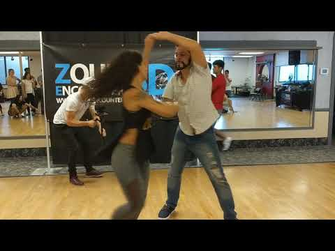ZEDFSD2018 Rachael & Renato in workshop demo ~ Zouk Soul