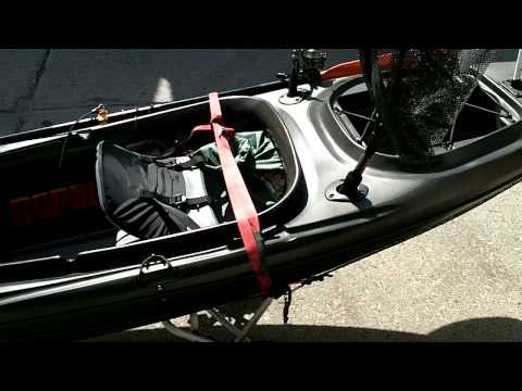 ASCEND FS10 Custom Fishing KayaK