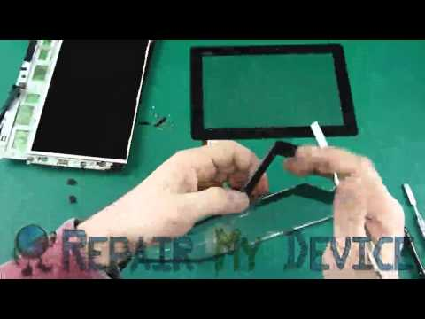 Asus Transformer TF300 Touch Screen Replacement Disassembly Instructions