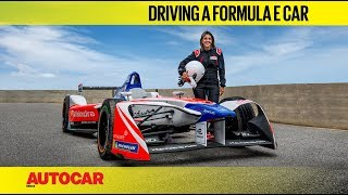 We drive a Formula E race car! | Feature | Autocar India