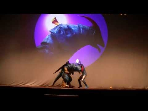 Ultraman Cosmos Live Action balai Sarbini Indonesia February 22nd 2014 Part 1 video