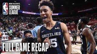 GRIZZLIES vs TIMBERWOLVES | 2019 Championship Game | MGM Resorts NBA Summer League