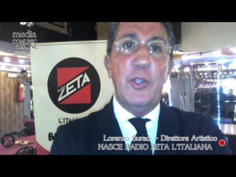 Lorenzo Suraci presenta Radio Zeta L'Italiana