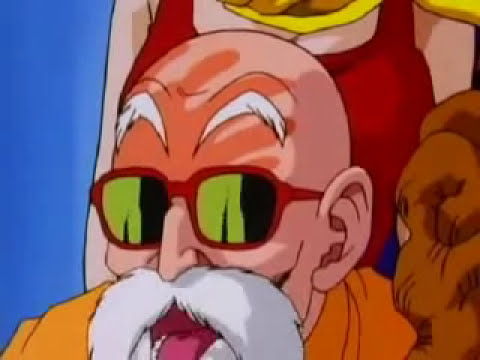 Maestro Roshi manosea a Bulma Dragon Ball Z HD