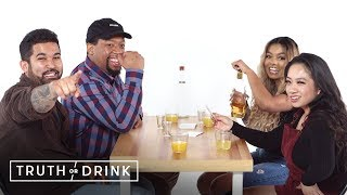 BFFS Double Blind Date (Ardent, Michael, Ashleen, & Spring) | Truth or Drink | Cut