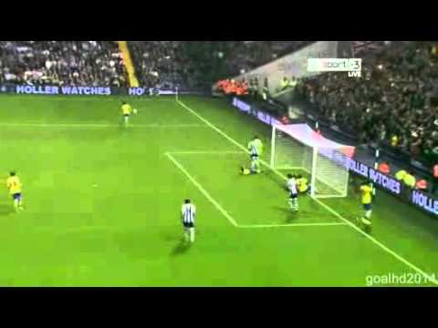 West Bromwich vs Arsenal All Goals & Highlights 1-1 [pen 3 - 4] 25/9/2013