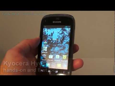 Hands-on with the Kyocera Hydro Android 4.0 smartphone