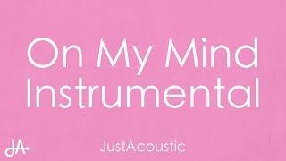 On My Mind Jorja Smith Acoustic Instrumental