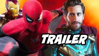 Spider-Man Far From Home Trailer - Avengers Endgame Easter Eggs Breakdown