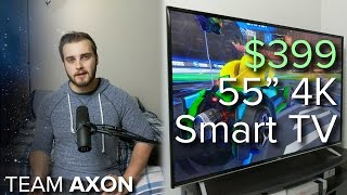 "Are 4K TVs worth it yet? - $399 TCL 55"" 4K TV Review / Editorial"