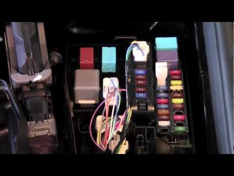 2012 Toyota Camry Fuse Panel How To By Toyota City