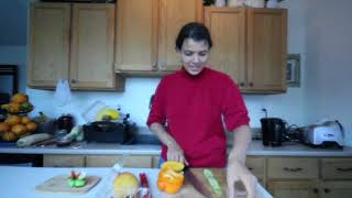 How to make Raw Vegan Fruitarian Rolls || 80/10/10 Fat Free Weight Loss Recipe