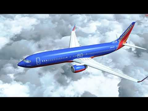 Microsoft Flight Simulator X - Southwest 737 with Dad Part I