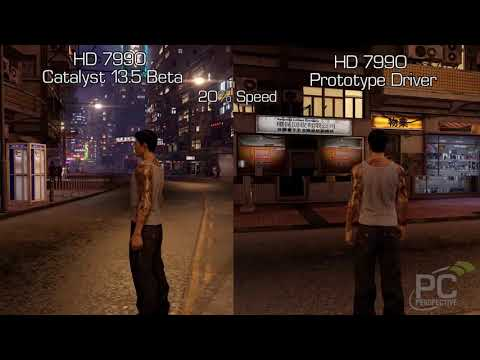 Sleeping Dogs - AMD Frame Pacing Prototype 2 Driver Comparison - Frame Rating