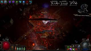 Path Of Exile - The Tempest Lightning Arrow/Barrage DeadEye Atziri Run (3.0/3.1ok)