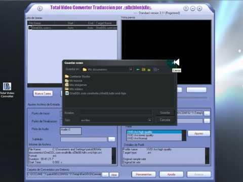 Pegar Subtitulos con Total Video Converter 5
