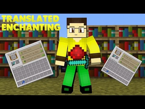 Minecraft PE [0.16.0] Translated Enchanting - Minecraft PE Texture Pack #8