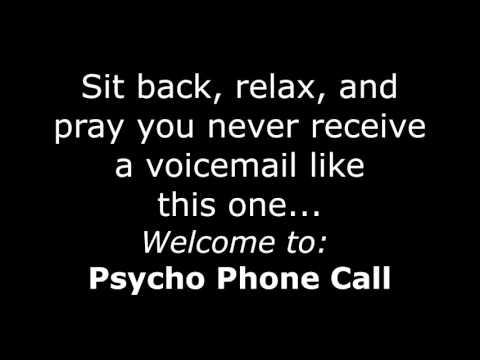 Psycho Stalker Phone Call 3D Audio  (Very Creepy!) It's Back!