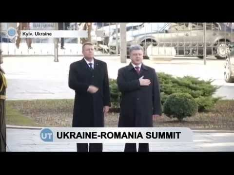 'Ukraine Ready to Supply East With Aid': Poroshenko says after meeting Romanian leader Iohannis
